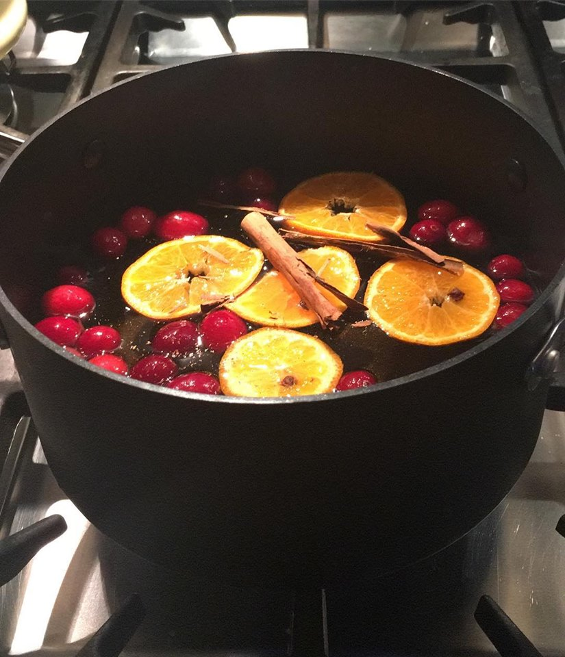 winter punch pan
